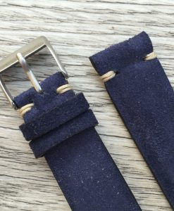 suede watch strap made in italy