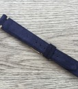 vintage blue suede watch strap