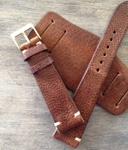 bund leather strap