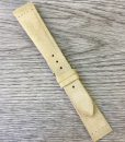 leather watch strap light sand
