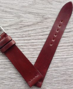 horween shell cordovan leather strap