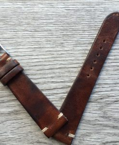 vintage leather stap ranch