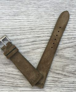 dark sand suede strap made in italy
