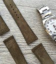 luxury hand made leather strap