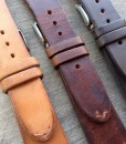 leather watch straps set