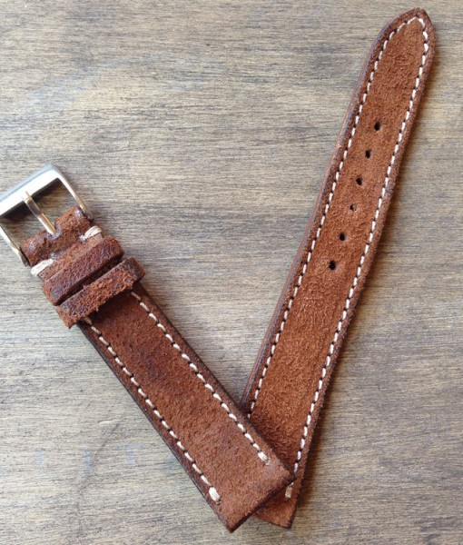 country brown vintage leather band