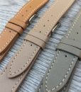 luxury elegant luxury smooth leather watch straps set