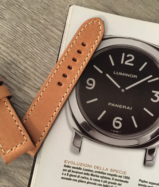 panerai handcrafted leather straps