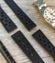handcrafted italian leather watch strap