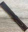 dark brown luxury quality watch strap