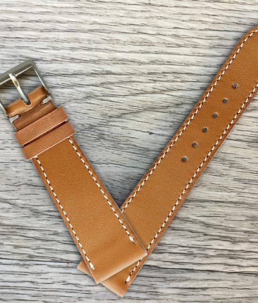 calfskin smooth leather watch strap