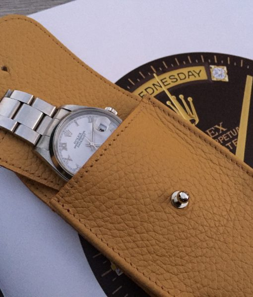 handmade in italy leather wacth accessories