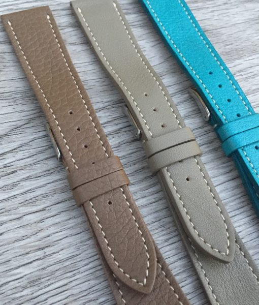 handmade elegant luxury leather watch straps